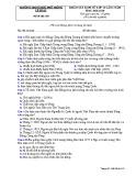 Đề thi KSCL môn Lịch sử 12 năm 2018-2019 lần 2 - THPT Lê Xoay - Mã đề 510