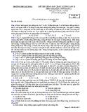 Đề thi KSCL môn GDCD 12 năm 2018-2019 lần 2 - THPT Lê Xoay - Mã đề 628