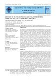 Dẫn liệu về thành phần loài cá xương (Osteichthys) ở khu bảo tồn Sao La, tỉnh Thừa Thiên Huế