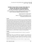 Nghiên cứu ảnh hưởng của hiện tượng bóng che lên đặc tính làm việc của pin quang điện sử dụng phần mềm matlab/simulink simscape