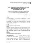 Tối ưu tham số điều khiển của thiết bị điều chỉnh dòng công suất hợp nhất (UPFC) cho lưới điện truyền tải