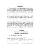 Tóm tắt Luận văn Thạc sĩ Ngân hàng: Phát triển các dịch vụ chứng khoán tại Công ty Cổ phần Chứng khoán Golden Bridge Việt Nam