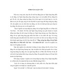 Tóm tắt Luận văn Thạc sĩ Ngân hàng: Tăng cường huy động vốn tại Ngân hàng Đầu tư và Phát triển Việt Nam – Chi nhánh Hà Nội