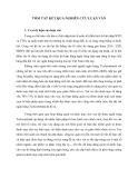 Tóm tắt Luận văn Thạc sĩ Ngân hàng: Tăng cường công tác quản trị danh mục cho vay tại ngân hàng TMCP Kỹ thương Việt Nam
