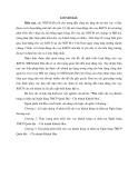 Tóm tắt Luận văn Thạc sĩ Ngân hàng: Phát triển cho vay Khách hàng cá nhân tại Ngân hàng TMCP Quân Đội – Chi nhánh Khánh Hòa