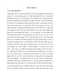 Tóm tắt Luận văn Thạc sĩ Ngân hàng: Marketing dịch vụ tín dụng dành cho khách hàng doanh nghiệp tại Ngân hàng TMCP Công thương Việt Nam, Chi nhánh Vĩnh Phúc: Thực trạng và giải pháp