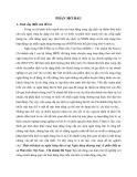 Tóm tắt Luận văn Thạc sĩ Ngân hàng: Phát triển dịch vụ ngân hàng bán lẻ tại Ngân hàng thương mại cổ phần Đầu tư và Phát triển Việt Nam - Chi nhánh Hà Nam