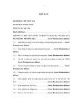 Tóm tắt Luận văn Thạc sĩ Ngân hàng: Quản lý nợ xấu tại sở giao dịch ngân hàng TMCP Ngoại Thương Việt Nam