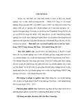 Tóm tắt Luận văn Thạc sĩ Ngân hàng: Phát triển cho vay doanh nghiêp̣ vừa và nhỏ taị Ngân hàng TMCP Công thương Việt Nam – Chi nhánh Đông Hà Nội