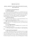 Tóm tắt Luận văn Thạc sĩ Ngân hàng: Chất lượng tín dụng bán lẻ tại Ngân hàng thương mại cổ phần kỹ thương Việt Nam chi nhánh Phương Mai
