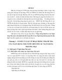 Tóm tắt Luận văn Thạc sĩ Ngân hàng: Tăng cường thanh tra của Ngân hàng Nhà nước chi nhánh tỉnh Hà Giang đối với các Ngân hàng thương mại trên địa bàn