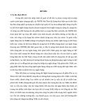 Tóm tắt Luận văn Thạc sĩ Ngân hàng: Phát triển tín dụng bán lẻ tại Ngân hàng thương mại cổ phần Đầu tư và Phát triển Việt Nam chi nhánh Sơn La