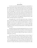 Tóm tắt Luận văn Thạc sĩ Ngân hàng: Giải  pháp nâng cao hiệu quả cho vay lại nguồn vốn ODA tại Sở Giao dịch III - Ngân hàng Đầu tư và Phát triển Việt Nam