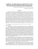 Nghiên cứu các phương pháp xử lý khí oxy hòa tan (DO) trong nước thải nuôi tôm chân trắng (Litopenaeus vannamei) ở xã Điền Môn, huyện Phong Điền, tỉnh Thừa Thiên Huế
