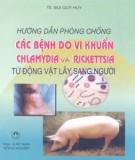 Sổ tay hướng dẫn phòng chống các bệnh do vi khuẩn Chlammydia và Rickettsia từ động vật lây sang người: Phần 1