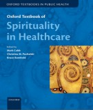 Healthcare and spirituality - Oxford textbook: Part 1