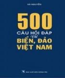 500 câu hỏi đáp về biển đảo việt nam: phần 2