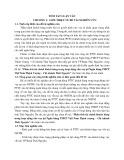 Tóm tắt Luận văn Thạc sĩ Ngân hàng: Phân tích tài chính khách hàng trong hoạt động cho vay tại Ngân hàng TMCP Việt Nam Thịnh Vượng – Chi nhánh Thái Nguyên