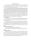 Tóm tắt Luận văn Thạc sĩ Ngân hàng: Phát triển hoạt động tín dụng chính sách tại NHCSXH huyện Ninh Giang-Hải Dương