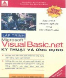 Kỹ thuật và ứng dụng trong lập trình Visual Basic .NET: Phần 2