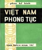 Phong tục Việt Nam: Phần 1