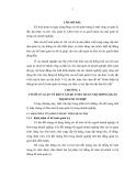 Tóm tắt Luận văn Thạc sĩ Kế toán: Hoàn thiện hệ thống báo cáo kế toán quản trị trong các đơn vị xây lắp trên địa bàn Hà Nội