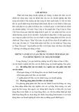 Tóm tắt Luận văn Thạc sĩ Kế toán: Hoàn thiện phân tích báo cáo tài chính tại Tổng công ty Thép Việt Nam