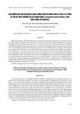 Ảnh hưởng của mật độ nuôi và hàm lượng protein trong thức ăn lên tỷ lệ sống và tốc độ tăng trưởng của cá ngạnh sông (Cranoglanis henrici Vaillant, 1893) nuôi trong bể composite