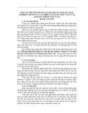 Sáng kiến kinh nghiệm: Phương pháp giải nhanh các bài tập trắc nghiệm chương IV Các định luật bảo toàn Vật lý 10 (Chương trình nâng cao)