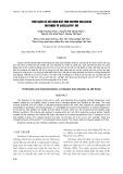 Tinh sạch và xác định đặc tính enzyme cellulase thu nhận từ Bacillus sp. M5