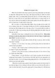 Tóm tắt Luận văn Thạc sĩ Kế toán: Hoàn thiện nội dung và phương pháp phân tích tình hình tài chính tại Công ty cổ phần nhựa Bình Minh