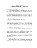 Tóm tắt Luận văn Thạc sĩ Kế toán: Hoàn thiện kế toán nguyên vật liệu tại Công Ty Cổ Phần Bia Hà Nội – Kim Bài