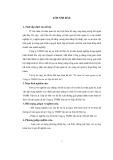 Tóm tắt Luận văn Thạc sĩ Kế toán: Tổ chức kế toán quản trị tại Công ty TNHH Vận tải và Xếp dỡ Hải An