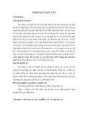 Tóm tắt Luận văn Thạc sĩ Kế toán: Giải pháp huy động tiền gửi dân cư của Ngân hàng TMCP Hàng Hải Maritime bank