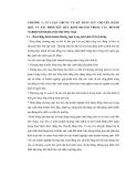 Tóm tắt Luận văn Thạc sĩ Kế toán: Hoàn thiện kế toán lưu chuyển hàng hoá và xác định kết quả kinh doanh trong các doanh nghiệp kinh doanh hoá chất và thiết bị Y tế trên địa bàn thành phố Hà Nội