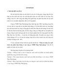 Tóm tắt Luận văn Thạc sĩ Quản trị kinh doanh: Nâng cao năng lực cạnh tranh sản phẩm thép không rỉ của công ty TNHH Thép Nhật Quang
