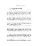 Tóm tắt Luận văn Thạc sĩ Quản trị kinh doanh: Nghiên cứu vai trò của quản lý Nhà nước đối với phát triển du lịch làng nghề ở Hà Nội