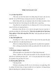 Tóm tắt Luận văn Thạc sĩ Kế toán: Phát triển sản phẩm thẻ tại Ngân hàng Nông nghiệp và Phát triển nông thôn Việt Nam