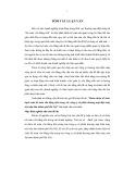 Tóm tắt Luận văn Thạc sĩ Kế toán: Hoàn thiện tổ chức hạch toán kế toán vốn bằng tiền trong các công ty cổ phần thương mại điện máy trên địa bàn thành phố Hà Nội