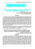Giám sát sự lưu hành virus cúm A/H5N6 trên đàn gia cầm tỉnh Lạng Sơn bằng phương pháp Realtime - PCR