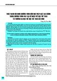 Thực trạng nội dung chương trình môn học Pháp luật đại cương trong chương trình đào tạo cử nhân thể dục thể thao tại trường Đại học Thể dục Thể thao Bắc Ninh
