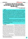 Đặc điểm phát triển thể chất của học sinh dân tộc thiểu số lứa tuổi 11-14 khu vực Tây Nguyên thời điểm 10/2018
