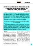 Giải pháp nâng cao mức độ thích ứng với công việc của sinh viên tốt nghiệp hệ đại học chính quy khoa Thể dục thể thao trường Đại học Sư phạm - Đại học Thái Nguyên