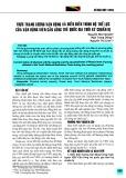 Thực trạng lượng vận động và diễn biến trình độ thể lực của vận động viên cầu lông trẻ quốc gia thời kỳ chuẩn bị