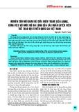 Nghiên cứu mối quan hệ giữa hiện trạng tiền lương, công việc với mức độ hài lòng của các huấn luyện viên thể thao đội tuyển Quốc gia Việt Nam