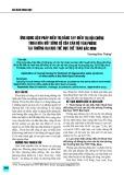 Ứng dụng liệu pháp điều trị bằng tay hội chứng thoái hóa đốt sống cổ của cán bộ văn phòng tại trường Đại học Thể dục Thể thao Bắc Ninh