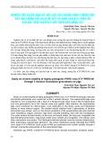 Nghiên cứu sự ổn định về độc lực của chủng virus cường độc gây hội chứng rối loạn hô hấp và sinh sản KTY-PRRS-06 sau khi tiêm truyền 5 đời trên bản động vật