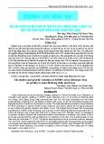 Sự lưu hành và biến đổi di truyền của virus cúm A/H5N1 tại một số tỉnh vùng đồng bằng sông Cửu Long
