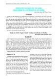 Nghiên cứu tác dụng của trà xanh trong phòng trị cầu trùng ở gà gây nhiễm