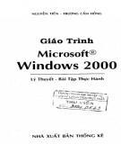 Giáo trình Microsoft windows 2000: Phần 1 - NXB Thống Kê